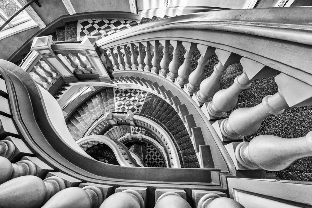 Staircase at the natural history museum