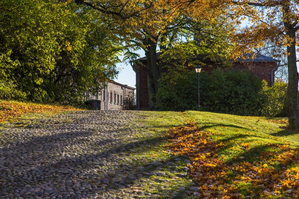 Autumn colours on Suomenlinna