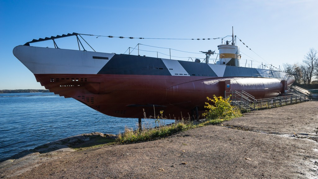Vessiko, the only remaining WW2 submarine from Finland