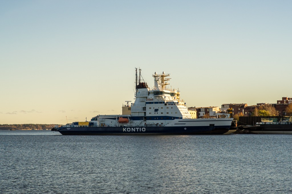 Kontio- Finnish ice-breaking ship