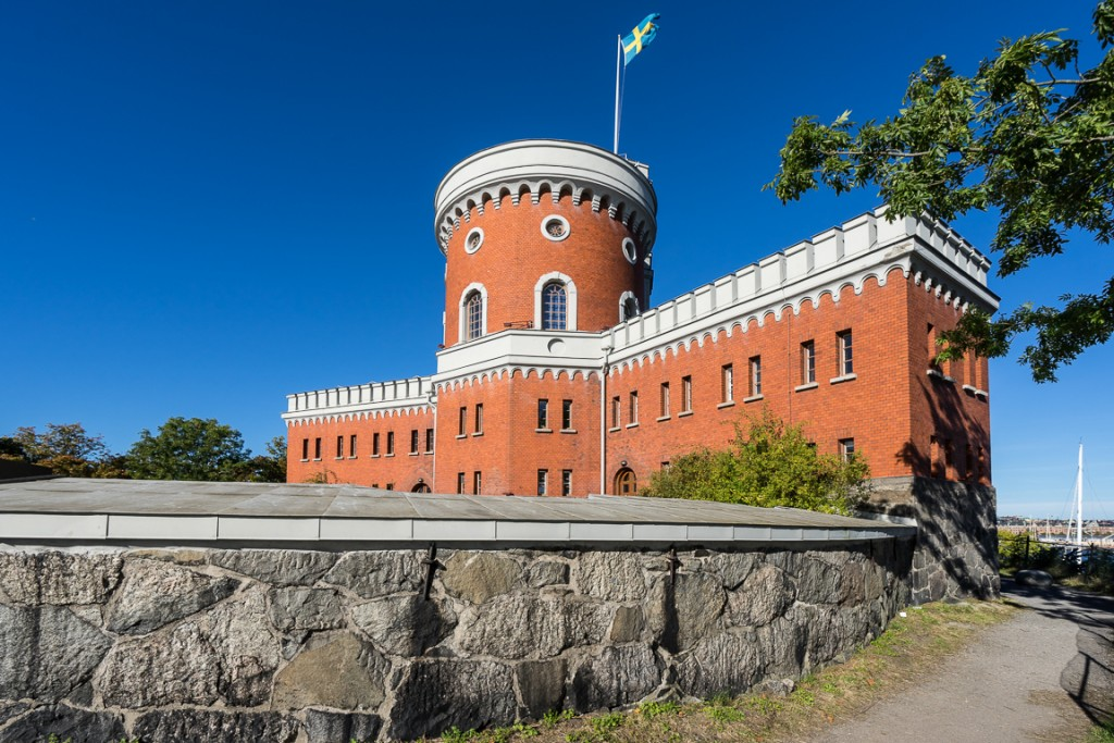 Small castle on Kastellholmen island