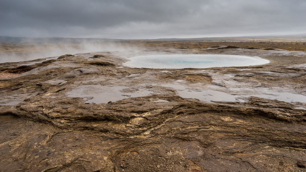 "Geysir (the ""original"" waterspout) doesn't erupt very frequently now."