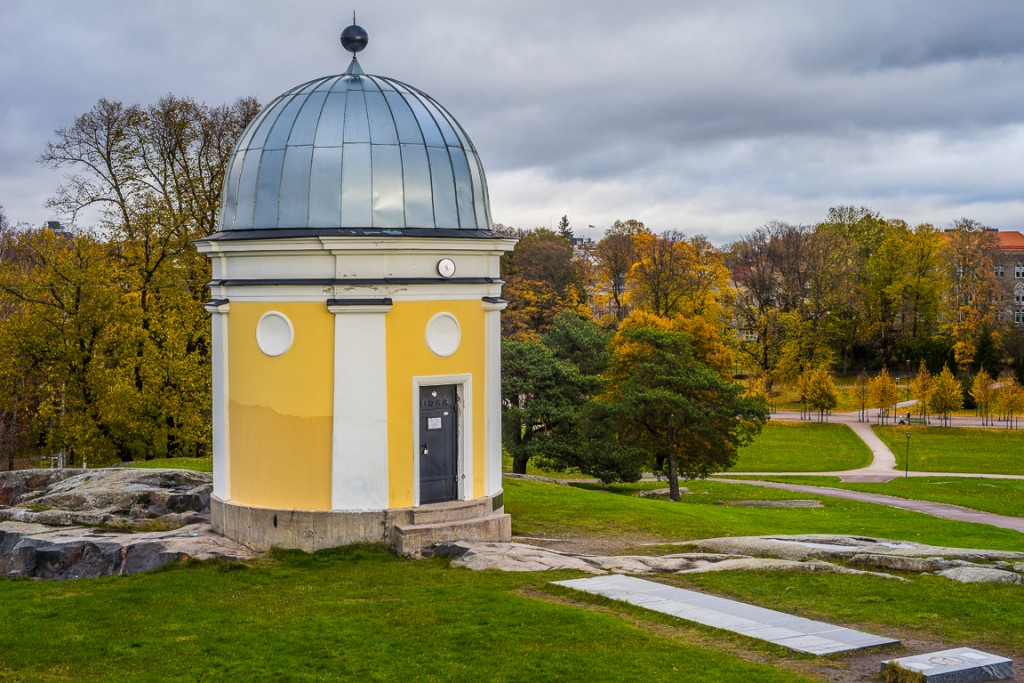 Ursa observatory, located in Kaivopuisto Park